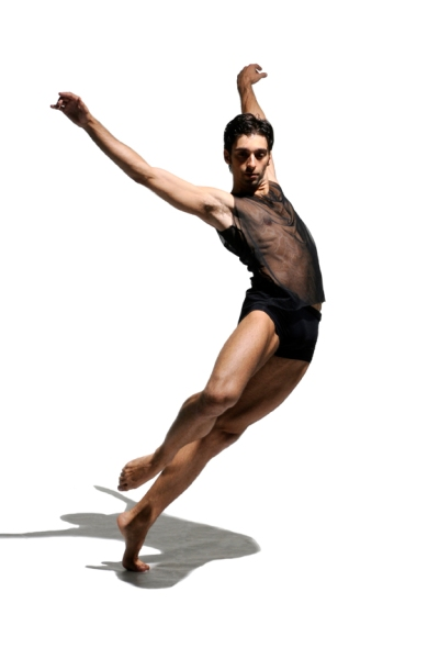 Ballet BC dancer Dario Dinuzzi; Photo by Michael Slobodian